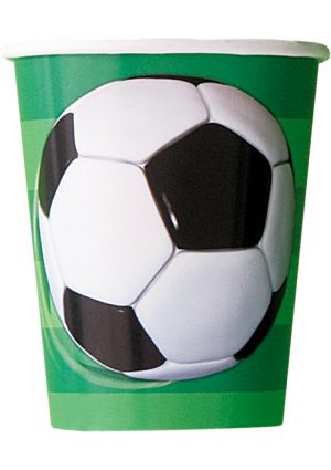 3D Football Party Cups