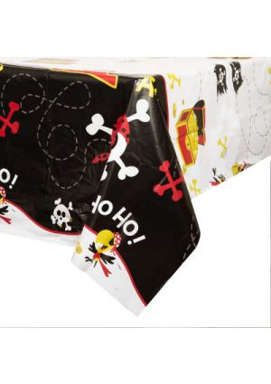 Pirate Fun Party Plastic Tablecover