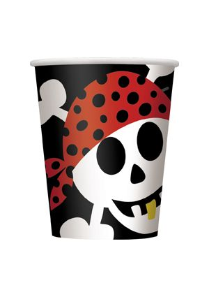 Pirate Fun Party Paper Cups