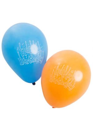 A Pack of 15 Happy Birthday Balloons