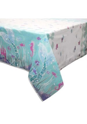 Mermaid Plastic Tablecover