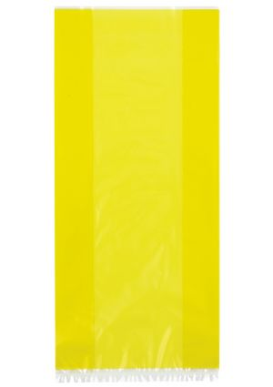 Sunflower Yellow Cellophane Party Bags