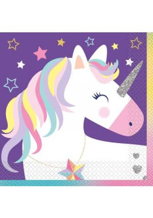 Unicorn Party Lunch Napkins