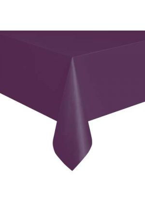 Midnight Purple Plastic Tablecover