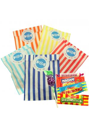 Sweetie Mix in a Bright Colours Sweet Bag