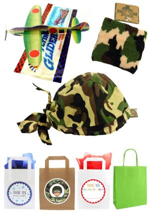 The Camouflage Party Bag