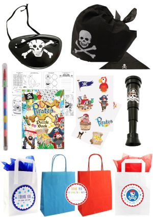 The Long John Silver Pirate Party Bag