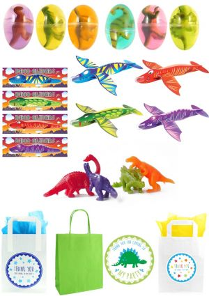 The Triceratops Dinosaur Party Bag