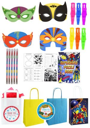 The Amazing Superhero Party Bag