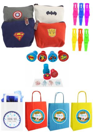 The Superhero Purse Party Bag