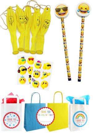 The Emoji Fun Party Bag