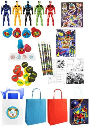 The Bumper Superhero Party Bag