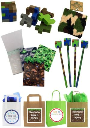 The Minecrafters Party Bag