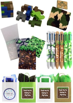 The Ultimate Minecrafters Party Bag