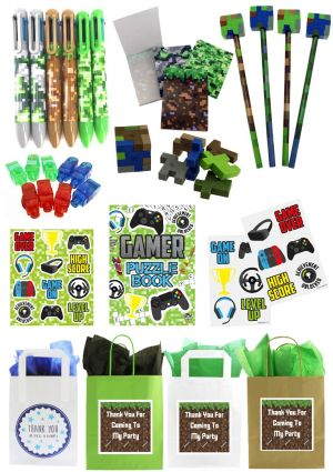 The Ultimate Minecrafters & Gamer Party Bag