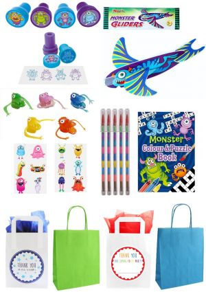 The Little Monster Bumper Party Bag