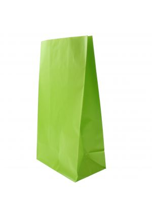 Lime Green Paper Party Bags