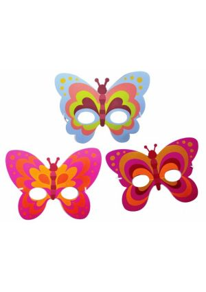 Butterfly Foam Masks