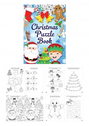 Christmas Puzzle Book