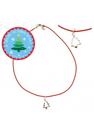 Christmas Tree Pendant Necklace
