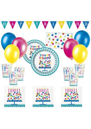 Happy Birthday Confetti Party - Quick Buy