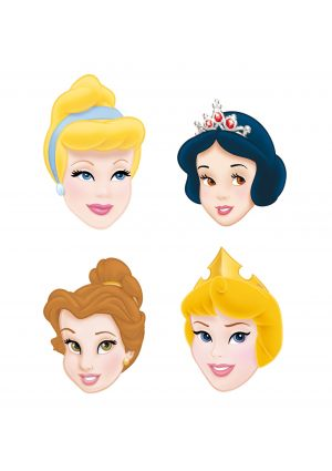A Pack of 6 Disney Princess Masks