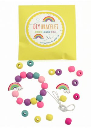 Wooden Rainbow DIY Bracelet Set