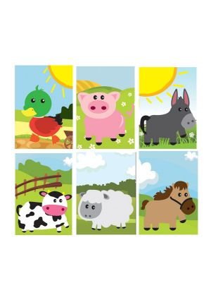Farm Animal Memo Pad