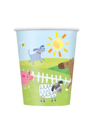 Farm Party Paper Cups