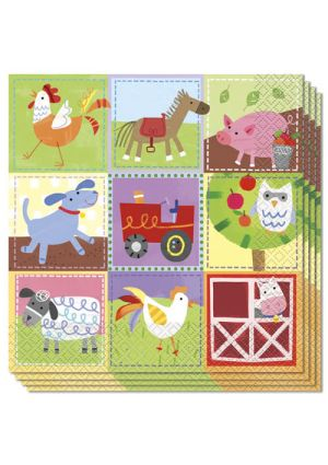 Farm Lunch Napkins