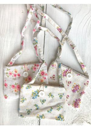 Floral Cotton Purse