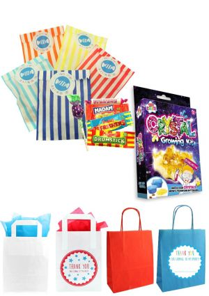 The Crystal Growing Party Bag