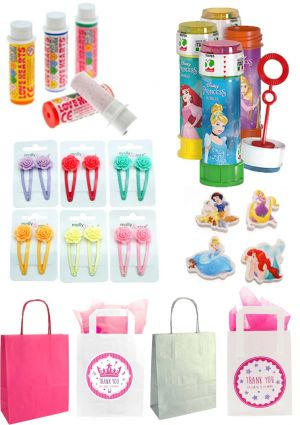 The Disney Princess Bubbles Party Bag