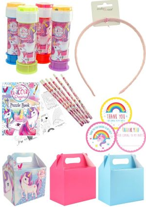 The Magical Unicorn Party Box