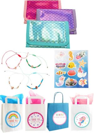 The Mermaid Wallet Party Bag