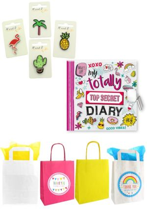 The Totally Top Secret Diary Party Bag