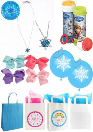 The Frozen Snowflake Party Bag
