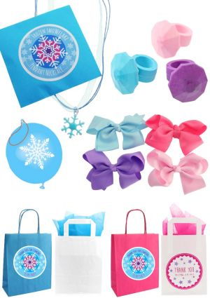 Pretty Frozen Party Bag