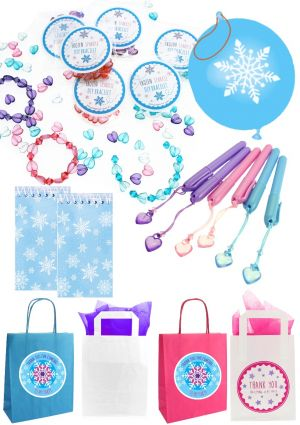 Frozen Sparkle Party Bag