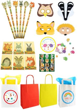 The Woodland Deluxe Party Bag