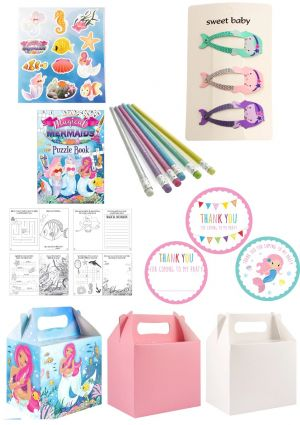 The Mermaid Party Box
