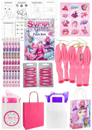 The Super Girl Party Bag
