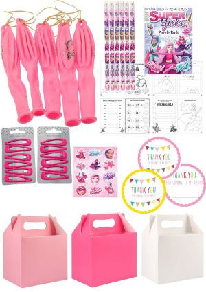 The Super Girl Party Box