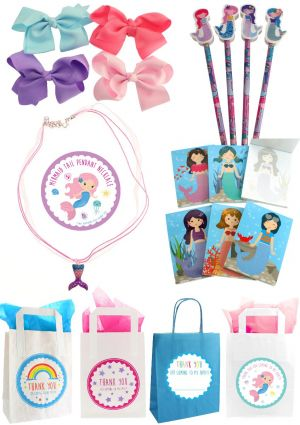 The Mermaid Deluxe Party Bag