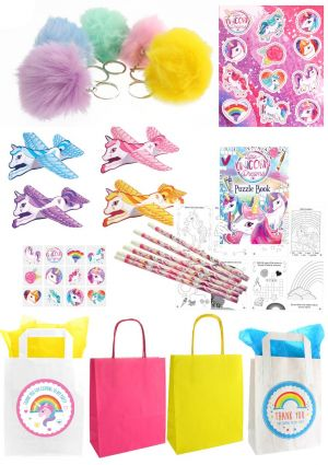The Unicorn Pom Pom Party Bag