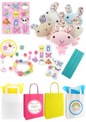 The Cute Bunny Party Bag