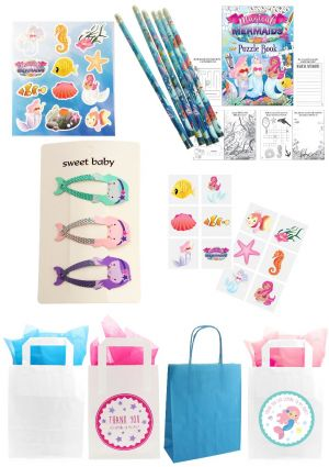 The Mermaid Sparkle Party Bag