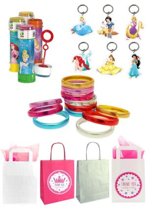 The Disney Princess Party  Bag