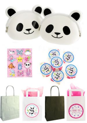 The Panda Purse Party Bag