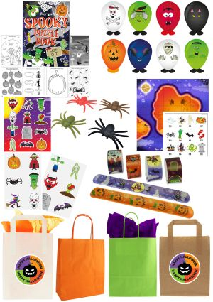 The Halloween Fright Party Bag